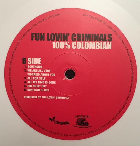 Fun Lovin Criminals 100 Colombian