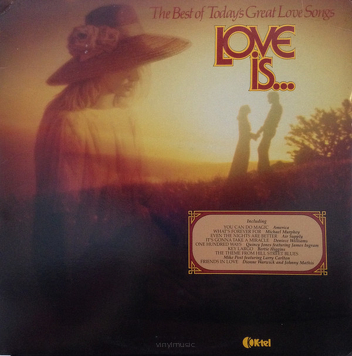 Various ‎– Love Is... The Best Of Today's Great Love Songs