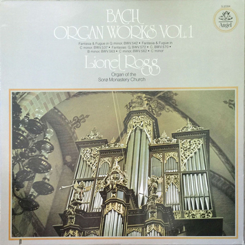 Bach - Lionel Rogg ‎– Organ Works Vol. 1