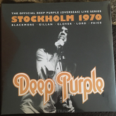 Deep Purple ‎– Live In Stockholm 1970