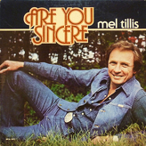 Mel Tillis ‎– Are You Sincere