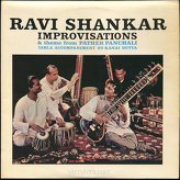 Ravi Shankar ‎– Improvisations And Theme From Pather Panchali
