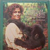 Maurice Jarre ‎– Gorillas In The Mist: The Adventures Of Dian Fossey