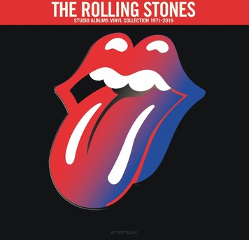 The Rolling Stones ‎– Studio Albums Vinyl Collection 1971-2016