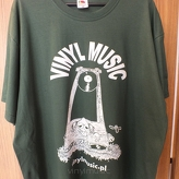 Koszulka T-shirt - vinylmusic (bottle green)