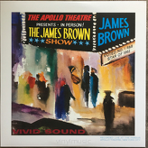 James Brown ‎– 'Live' At The Apollo