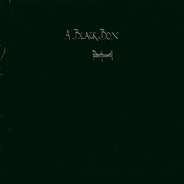 Peter Hammill ‎– A Black Box
